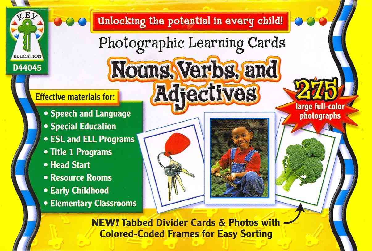 Nouns, Verbs and Adjectives By Key Education Publishing (COM)